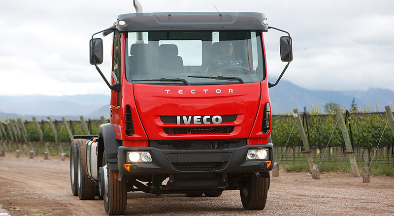 El Iveco Tector continúa liderando el ranking de patentamientos